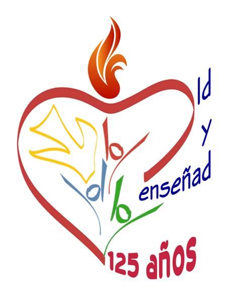 Logo 125 años Agustinas Misioneras