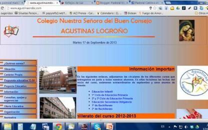 Web Colegio Ntra. Sra. del Buen Consejo (Logroño)