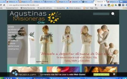 """Web de Pastoral Vocacional """"Agustinas Misioneras en Chile"""""""