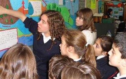 El Colegio Inmaculada Concepción con Argelia
