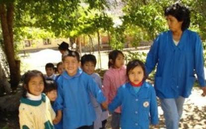 En la Escuela-Albergue de Cafayate