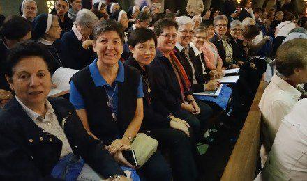 Agustinas Misioneras en el encuentro del Año de la Vida Consagrada en España