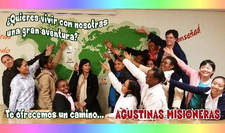 cartel vocacional agustinas misioneras