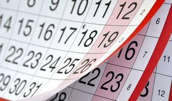 Caen las hojas del calendario