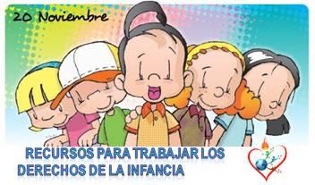 Recursos para trabajar los Derechos de la Infancia (20 Noviembre)